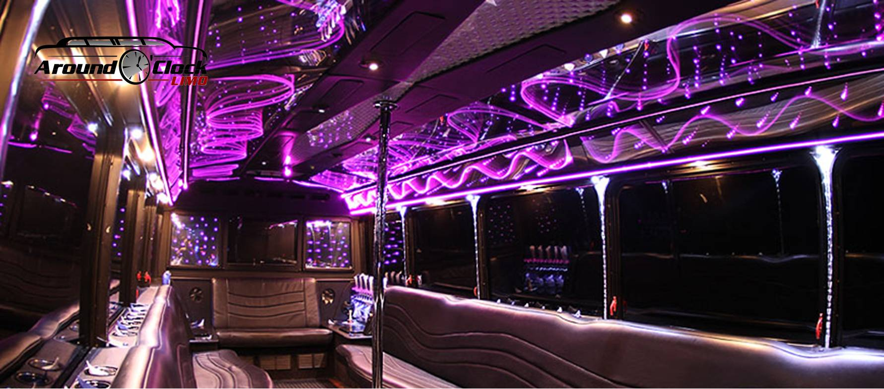 Los Angeles limo party bus wedding bachelor party night out limousine